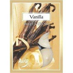 Bispol Scented Tealights podgrzewacze zapachowe ~ 4 h 6 szt - Vanilla