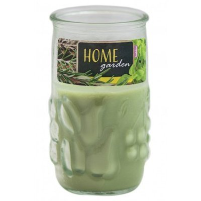 Bolsius outdoor scented candle Lime Light Windlight anti-mosquito - Citronella Basil