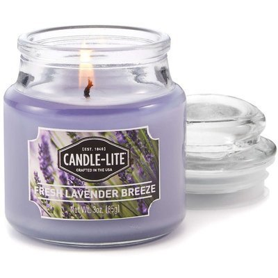 Candle-lite Everyday Collection Small Scented Candle 3 oz 85 g - Fresh Lavender Breeze