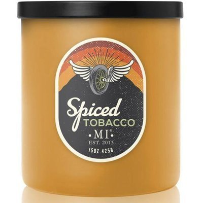 Colonial Candle All American masculine soy scented candle 15 oz 425 g - Spiced Tobacco