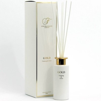 Fine Fragrance Precious Metals Collection fragrance reed diffuser 150 ml - Gold