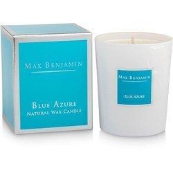 Max Benjamin Kolekcja Klasyczna świeca zapachowa w szkle handmade - Blue Azure