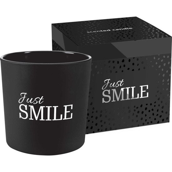 Bispol scented candle in box 2 wicks ~ 40 h - Just Smile