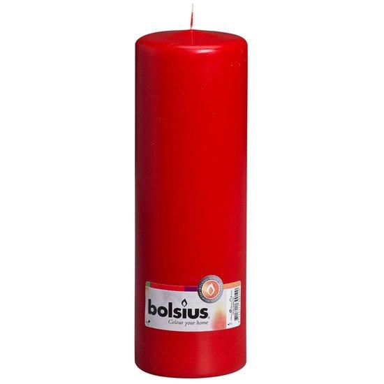 Bolsius Pillar Candle świeca bryłowa pieńkowa słupek 300/100 mm - Kremowa