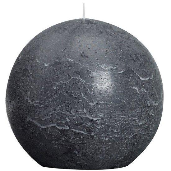 Bolsius Rustic Ball Candle świeca kula rustykalna 145 mm - Kremowy