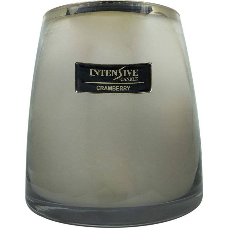 INTENSIVE COLLECTION 100% Soy Wax Luxury Candle Glass XXL - Amber